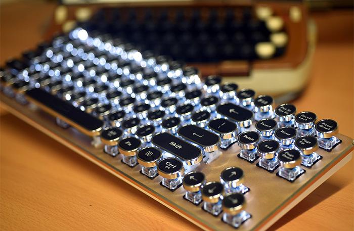 ABKO 레트로 키캡 K530 키보드