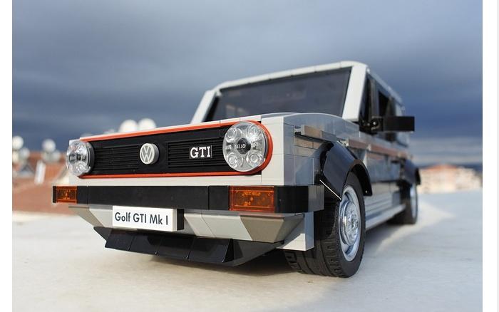 LEGO – IDEAS – Volkswagen Golf MK1 GTI