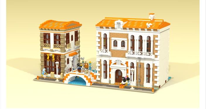 LEGO – IDEAS – Venetian Houses